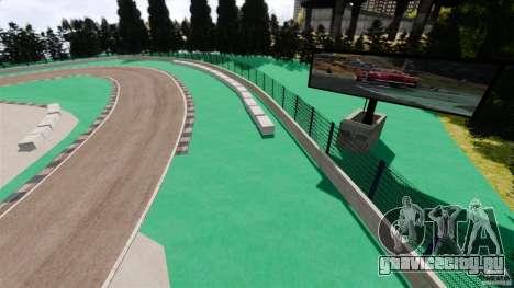 Ebisu Circuit для GTA 4 третий скриншот