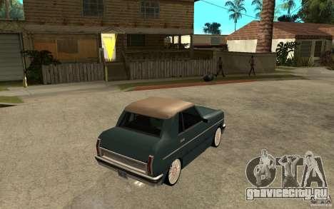 Perenial Coupe для GTA San Andreas вид справа