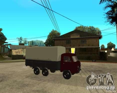 УАЗ 452 грузовой 6x6 для GTA San Andreas вид справа