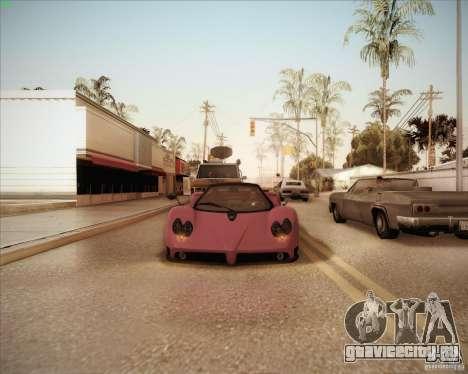 Pagani Zonda F V1.0 для GTA San Andreas вид сбоку