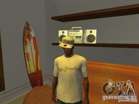 Nike Air Jordan - T-Shirt для GTA San Andreas второй скриншот