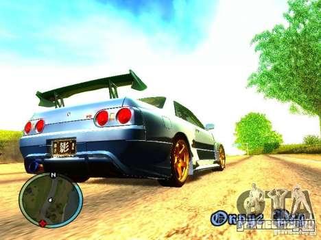 Nissan Skyline B324R для GTA San Andreas вид сзади слева