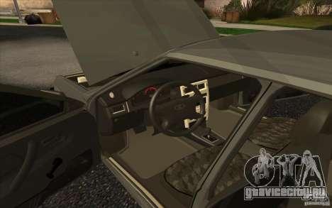VAZ-2109 для GTA San Andreas вид сзади слева