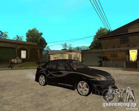 Saab 9-3 from GM Rally Вариант 2 для GTA San Andreas вид справа