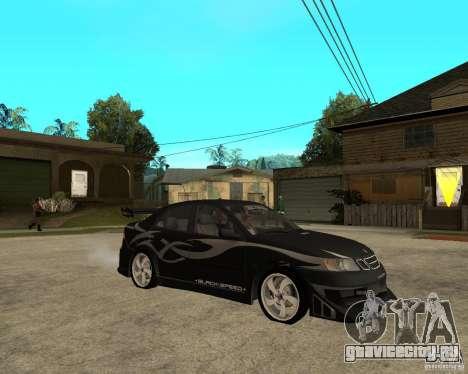 Saab 9-3 from GM Rally Вариант 2 для GTA San Andreas вид справа