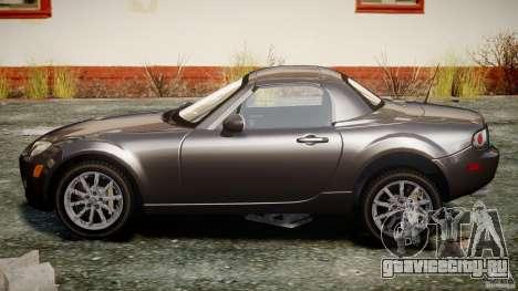 Mazda MX-5 для GTA 4 вид изнутри