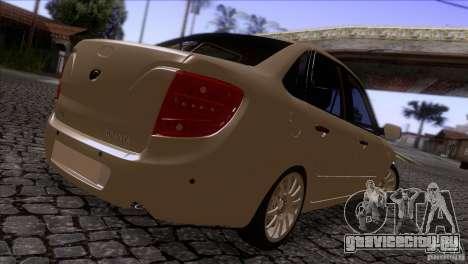 ВАЗ 2190 Granta для GTA San Andreas вид справа