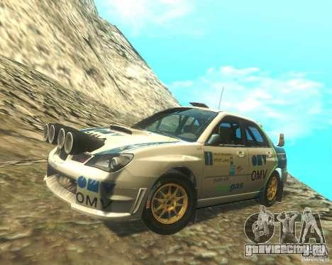 Subaru Impreza WRX STI DIRT 2 для GTA San Andreas вид сверху