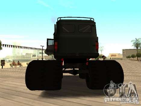 Uaz Monster для GTA San Andreas вид сзади слева