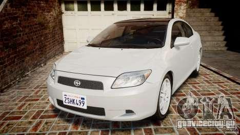Toyota Scion tC 2.4 Stock для GTA 4