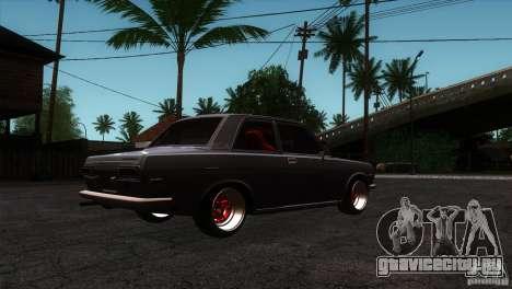 Nissan Datsun 510 для GTA San Andreas вид справа