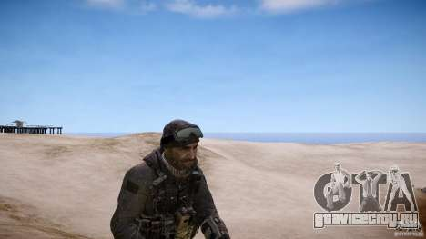 Капитан Прайс из COD MW3 для GTA 4 второй скриншот