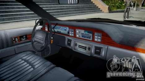 Chevrolet Caprice FBI v.1.0 [ELS] для GTA 4 вид справа