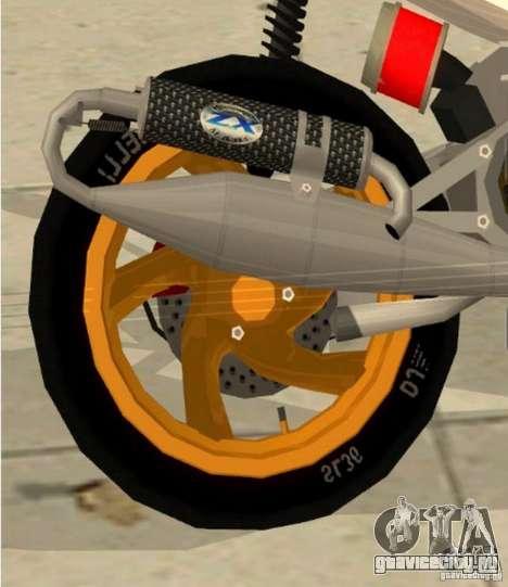 Gilera Runner 50SP Skin 3 для GTA San Andreas вид справа