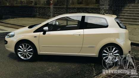 Fiat Punto Evo Sport 2012 v1.0 [RIV] для GTA 4 вид слева
