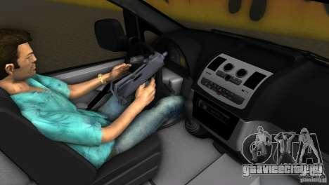 Mercedes-Benz Vito 2007 для GTA Vice City вид сзади