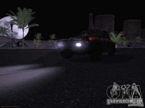 Lancia Fulvia Rally для GTA San Andreas вид сверху