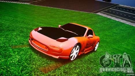Mazda RX-7 ProStreet Style для GTA 4 вид сзади