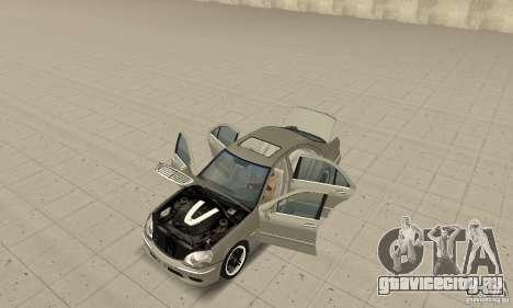 Mercedes-Benz S65 AMG 2004 для GTA San Andreas вид сзади