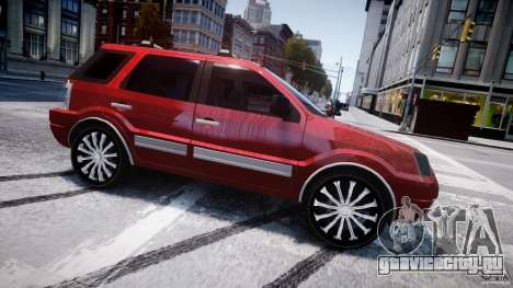 Ford EcoSport для GTA 4 вид слева