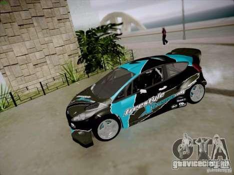 Ford Fiesta RS для GTA San Andreas вид изнутри