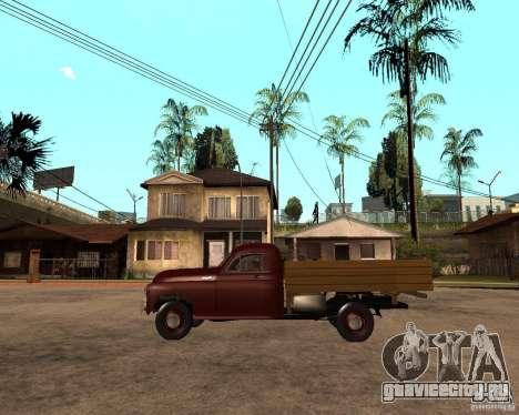 ГАЗ M-20 Победа PickUp для GTA San Andreas вид слева
