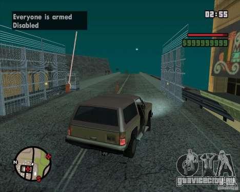 CJ - Мэр для GTA San Andreas восьмой скриншот