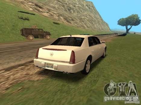 Cadillac DTS 2010 для GTA San Andreas вид слева
