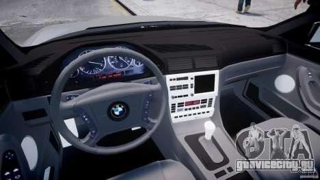 BMW 750i v1.5 для GTA 4 вид справа