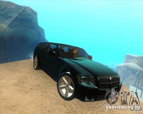 Dodge Magnum RT 2008 v.2.0 для GTA San Andreas вид справа