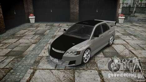 Mitsubishi Lancer Evolution VIII v1.0 для GTA 4 вид сзади