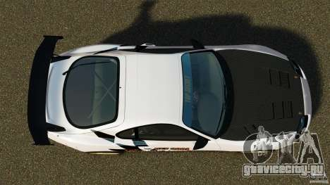 Toyota Supra Top Secret для GTA 4 вид справа