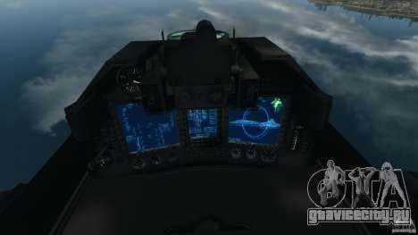 ADF-01 Falken для GTA 4 вид справа