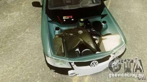 Volkswagen Gol G4 Rallye для GTA 4 вид сзади