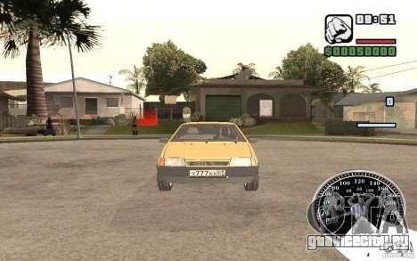 ВАЗ 21093i для GTA San Andreas вид слева