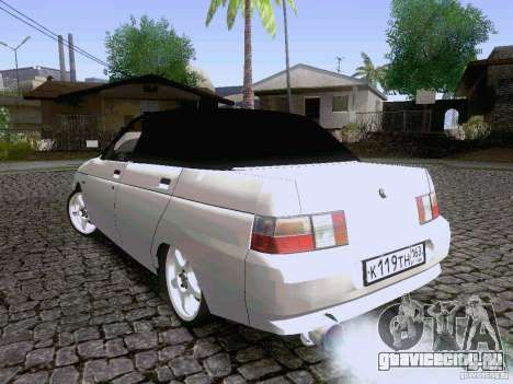 ВАЗ 21103 Maxi для GTA San Andreas вид сзади слева
