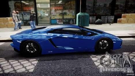 Lamborghini Aventador LP700-4 2011 [EPM] для GTA 4 вид сбоку