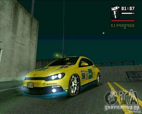 Volkswagen Scirocco 2008 для GTA San Andreas
