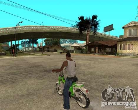 Mustang Mamba для GTA San Andreas вид слева