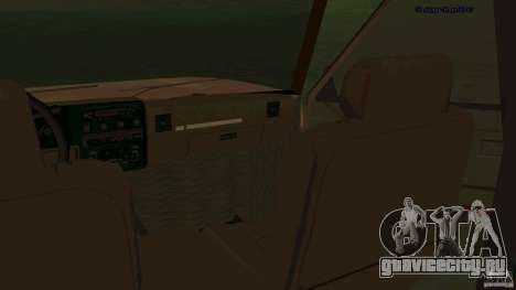 HD Huntley для GTA San Andreas вид сзади