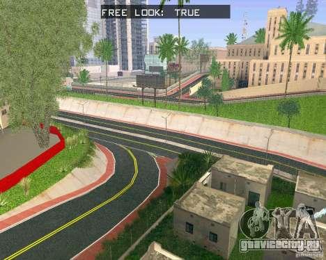 Новые Текстуры Лос-Сантоса для GTA San Andreas второй скриншот