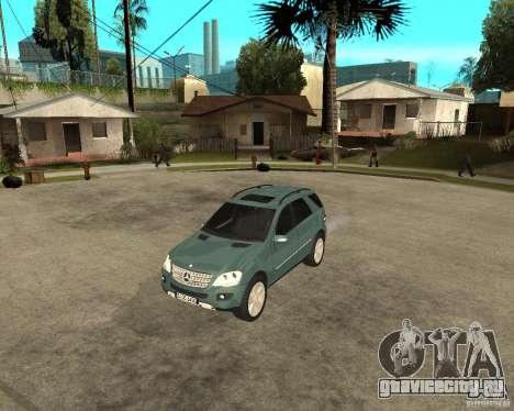 Mercedes-Benz ML 500 для GTA San Andreas вид слева