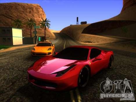 ENBSeries by Fallen v2.0 для GTA San Andreas девятый скриншот