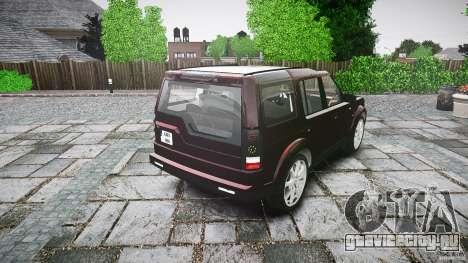 Land Rover Discovery 4 2011 для GTA 4 вид сбоку