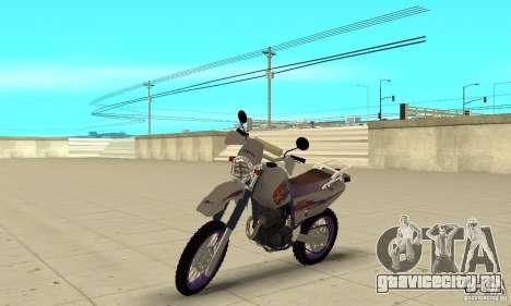 YAMAHA TT250R Raid для GTA San Andreas