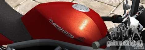 PCJ600 to Triumph StreeTTriple для GTA 4 вид слева