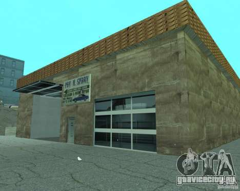New Xoomer.Новая заправка. для GTA San Andreas шестой скриншот