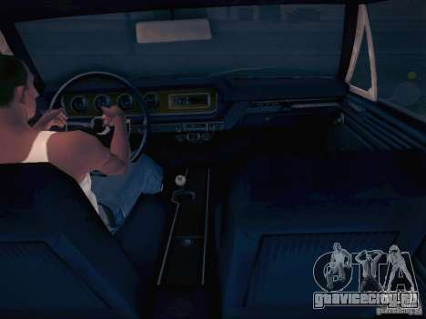 Pontiac GTO 65 для GTA San Andreas вид сзади