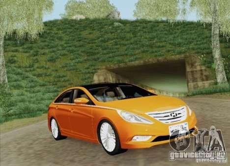 Hyundai Sonata 2012 для GTA San Andreas двигатель