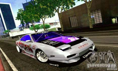 Nissan 150SX Drift для GTA San Andreas вид слева